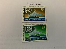 Buy United Nations IMCO 1964 mnh stamps