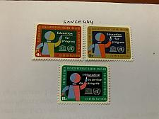Buy United Nations Education 1964 mnh stamps