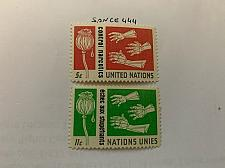 Buy United Nations Narcotics control 1964 mnh stamps