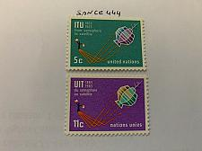 Buy United Nations I.T.U. 1965 mnh stamps
