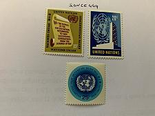 Buy United Nations Definitives 1965 mnh stamps