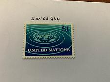 Buy United Nations Definitive $1 mnh 1966 stamps
