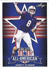 Buy Jarrett Stidham #72 - Patriots 2019 Leaf Rookie Football Trading Card