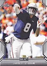 Buy Jarrett Stidham #36 - Patriots 2019 Leaf Rookie Football Trading Card