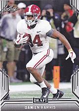 Buy Damien Harris #14 - Patriots 2019 Leaf Rookie Football Trading Card