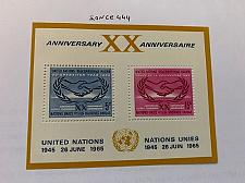 Buy United Nations 20 years UNO s/s 1967 mnh stamps