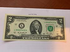 Buy United States Jefferson $2 crispy banknote 2013 #12