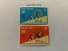 Buy United Nations 50 years I.L.O. 1969 mnh stamps