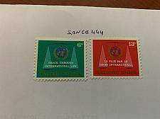 Buy United Nations Intern. justice 1969 mnh stamps