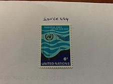 Buy United Nations Peaceful use of sea 1971 mnh stamps