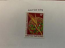 Buy United Nations Food program 1971 mnh stamps