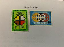 Buy United Nations Anti racism 1971 mnh stamps