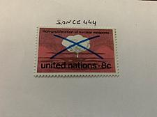 Buy United Nations Nuclear weapons 1972 mnh stamps