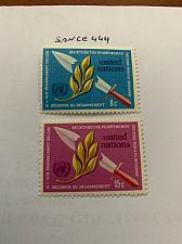 Buy United Nations Disarmament 1973 mnh stamps