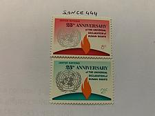 Buy United Nations Human Rights 1973 mnh stamps