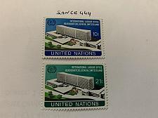 Buy United Nations I.L.O. building 1974 mnh stamps