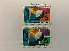 Buy United Nations Peacefull use of space 1975 mnh stamps