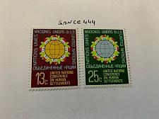 Buy United Nations Habitat 1976 mnh stamps