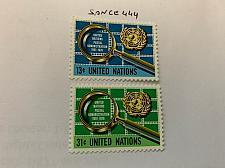 Buy United Nations Postal service 1976 mnh stamps