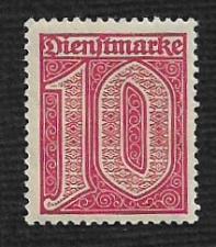 Buy German MNH #O2 Catalog Value $1.05