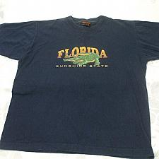 Buy Florida Sunshine State Blue Tshirt 14-16 years Old