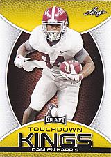 Buy Damien Harris #88 - Patriots 2019 Gold Leaf Rookie Football Trading Card