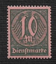 Buy German MNH #O18 Catalog Value $.53