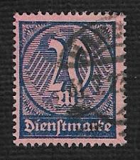 Buy German Used Scott #O19 Catalog Value $1.50