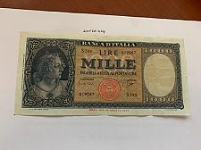 Buy Italy Medusa Testina 1000 lire banknote 1947 #12