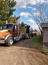 Buy 2019 Peterbilt 567 Logging Truck