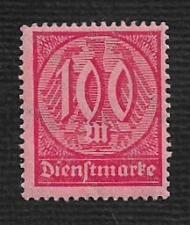 Buy German MNH #O21 Catalog Value $.53