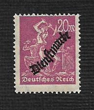 Buy German MNH #O22 Catalog Value $.73