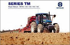 Buy New Holland TM115 TM125 TM135 TM150 TM165 Tractor Service Repair Manual on a CD