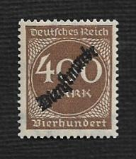 Buy German MNH #O27 Catalog Value $.61