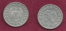 Buy GERMANY 50 Reichspfennig 1935 Coin - HISTORICAL WWII 3rd Reich Currency !!