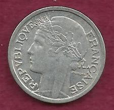 Buy FRANCE 1 Franc 1957 B Coin