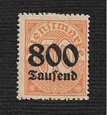 Buy Germany Hinged NG Scott #O33 Catalog Value $.45