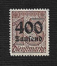 Buy German MNH #O35 Catalog Value $.49
