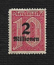 Buy German MNH #O38 Catalog Value $.59