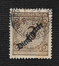 Buy German Used #O47 Catalog Value $.75