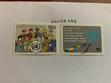 Buy United Nations Definitives 1985 mnh stamps