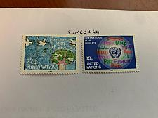Buy United Nations Year of peace 1986 mnh stamps