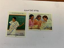 Buy United Nations Volunteers day 1988 mnh stamps