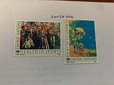 Buy United Nations Sports 1988 mnh stamps