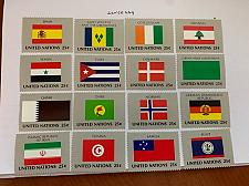 Buy United Nations Flags 1988 mnh stamps