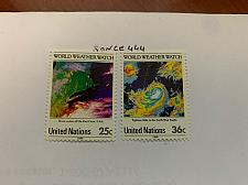Buy United Nations Weather watch 1989 mnh stamps