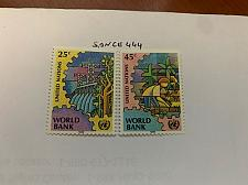 Buy United Nations World Bank 1989 mnh stamps