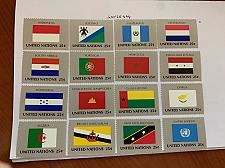 Buy United Nations Flags 1989 mnh stamps