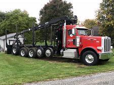 Buy 2013 Peterbilt 388 Logging Truck