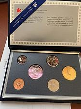 Buy Canada mint set of coins 1989